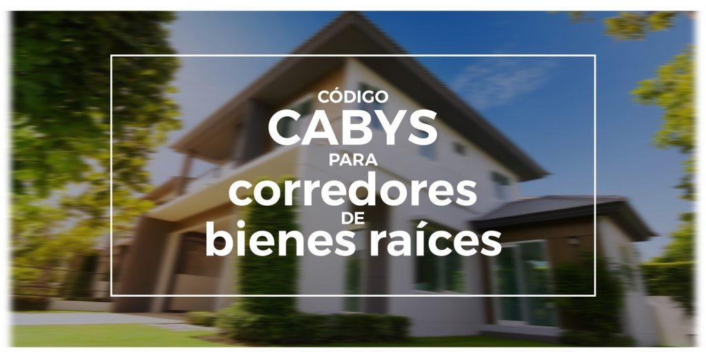 Codigo CABYS corredores de bienes raices en Costa Rica